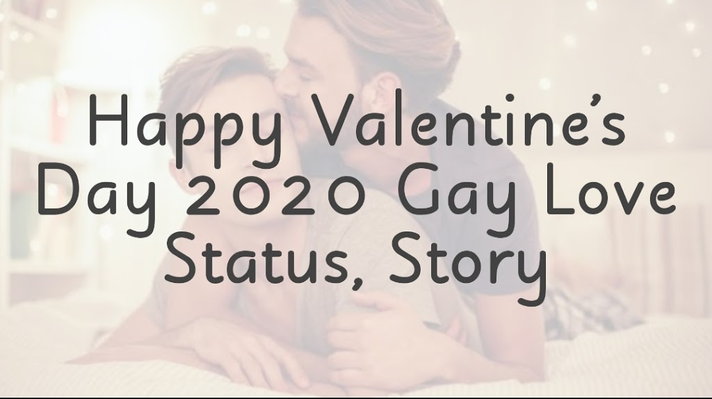 Valentines Day Gay Couple