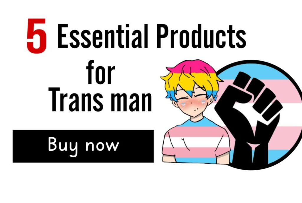 5 Essential Products for Trans man including STP Packers, Chest Binder
